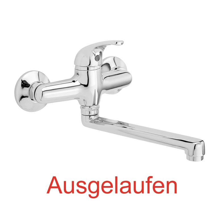 Wandbatterie Küche | Dibl Objektplus Einhebel Spultisch Wandbatterie Dibl Armaturen